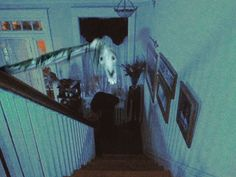"""""""I had that dream again, about the horse on the stairs.""""  Trevor Henderson"""