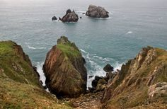 Stunning sea views from Alderney's coastal paths. Andalucia, Paths, Britain, Coastal, Sea, Amazing, Outdoor, Outdoors, Pathways