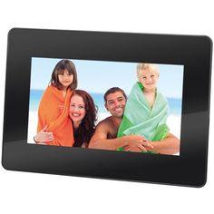 "Tv video monitor : Trevi dpl 2210bn cornice digitale 7"" led 16:10 480x234 dpi colore nero"