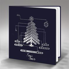 christmas cards modern art