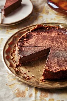Donkersjokolade-en-brandewynkaaskoek Cream Crackers, Goodies, Cakes, Desserts, Food, Sweet Like Candy, Treats, Meal, Gummi Candy