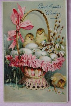 1911 Easter Post Card* *