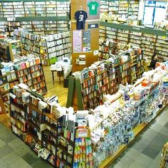 Kinokuniya bookstore in Seattle. Looks nicer than the one at the Mitsuwa in Chicago.