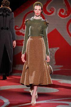 Ulyana Sergeenko  // Fall 2012 Couture