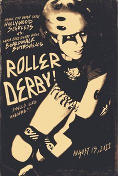 I need to join the roller derby that's my goal in life