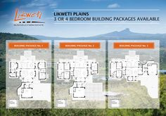 Buy your new home directly from the developer at Likweti Bushveld Farm Estate near White River. Building plans already designed and ready to build. Building Plans, House Plans, New Homes, Floor Plans, Layout, Houses, How To Plan, Architecture, Design