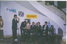 Curso experto en microcomputación en Ica Perú, fiesta de promoción.