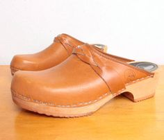 Wooden Clogs.  I had a white patent leather pair when I was about 8.  Wore them everywhere!