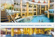 Nuevos combinados de ocio con descuentos: balneario + parques, balneario + buffets...