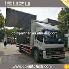 EJ6 refrigerated unit Isuzu FTR diesel cargo truck