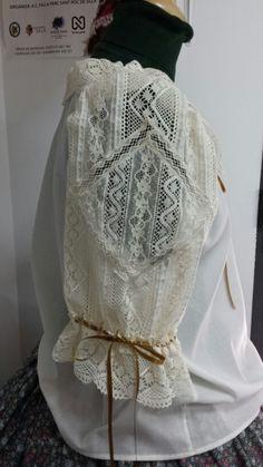 Camisa Sra. Traje de verano o huertana