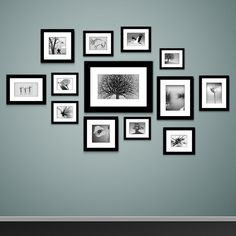 Feature wall Frames - Photo frames on wall Vector vintage picture frames. Photowall Ideas, Molduras Vintage, Vintage Picture Frames, Picture Frames On Wall, Picture Walls, Picture Placement On Wall, Photo Walls, Wall Photos, Black Photo Frames