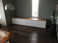 Hoogglans dressoir gemaakt door Houtvorm Voermans in Dongen. #maatwerk. https://houtvorm.nl