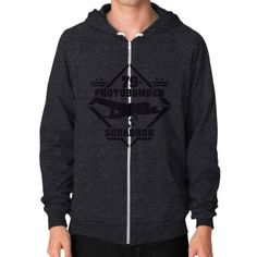 79th Photobomber- Squadron Zip Hoodie (on man) Shirt
