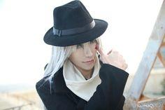 Character: Gin [Detective Conan].           Coser: XiLou76