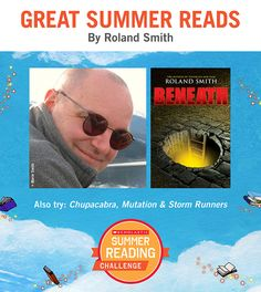 Looking for great summer reads for kids? Here's a recommendation by Roland Smith. Click through or visit scholastic.com/summer for more. #summerreading