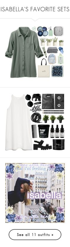 """""""❝ ISABELLA'S FAVORITE SETS ❞"""" by mxsic-galaxy ❤ liked on Polyvore featuring John Allan's, Karlsson, Allstate Floral, Bare Escentuals, Aesop, botcscool, botcs2, MANGO, Sephora Collection and Moscot"""