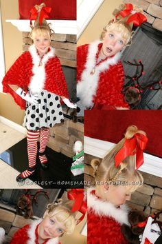 Cool Cindy Lou Who Costume... This website is the Pinterest of costumes