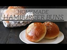 How to Make Burger Buns - Handle the Heat