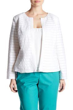 Catrice Linen Jacket (Plus Size)