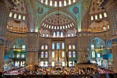 Friday Prayer at the Sultanahmet Mosque, Istanbul