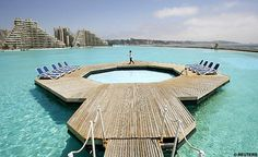 World's largest swimming pool....Chile