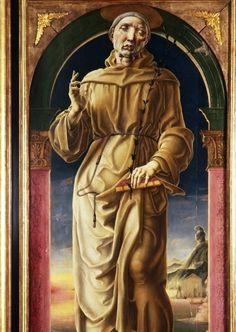 Cosmé Tura, Sant'Antonio, Galleria Estense Modena, Il collezionismo estense, virtù da sfruttare