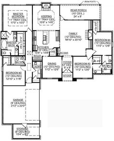 2 story polebarn house plans | free home plans - 1 1 2 story house