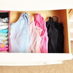 Good morning friends! Where in the world did this week go???   Tip: If I don't have an organizer on hand for a certain space I use a shoe box. It still maintains my folds and gives me time to look for the perfect fit! Folded items are a piece of cake to move!  - http://ift.tt/2jPxb7v