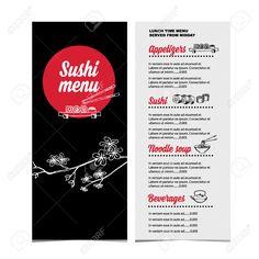 Restaurant Café Menu, Modèle Design.Vector Illustration. Clip Art Libres De Droits , Vecteurs Et Illustration. Image 37803401.