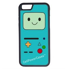 CellPowerCasesTM Beemo Adventure Time iPhone 6 (4.7) Protective V1... ($13) ❤ liked on Polyvore featuring accessories, tech accessories, phone cases, phones, tech, cases and black