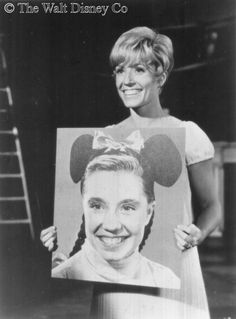 *DARLENE Gillespie ~ on 'Wonderful World of Color' for the Mickey Mouse 40th anniversary in 1968