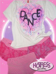 Top & Bottom Parts.  HotMess Dance Apparel (951) 268-4452