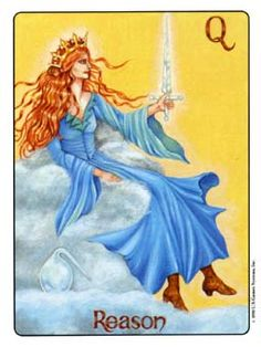 January 5 Tarot Card: Queen of Swords (Gill deck) Think, act, and judge for yourself now. Don't let your feelings get in the way ~ your mind and your convictions are more powerful