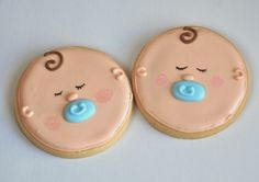 Image result for baby face cookies