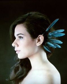 Standing Feather Ear Cuff  •  Free tutorial with pictures on how to make a cuff earring in under 25 minutes