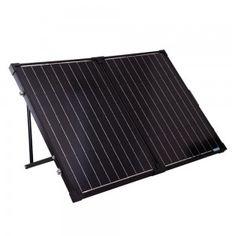 foldable solar suitcase