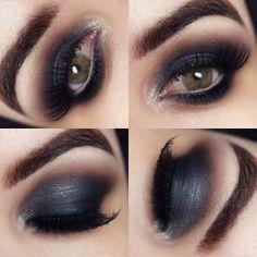 #makeup perfect #dark #smokey #eyeshadow  @stylexpert