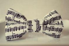 Sheet Music Bowtie