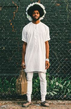 Mode Urbaine pour Homme The Most Inspiring Style From Brooklyn's Afropunk Festival Afro Punk, Men Street, Street Wear, Street Style Fashion Week, Festival Looks, Fashion Week Hommes, Moda Blog, Outfits Hombre, Afro Style