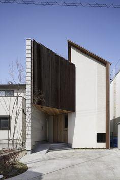 Arquitectos: TSC Architects Ubicación: Aichi, Japan Arquitecto A Cargo: Yoshiaki Tanaka Área: 77.0 sqm Año: 2013. Fachada