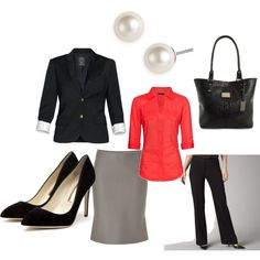 Business Interview Attire | Simple Business Attire. | Interview Attire - Women