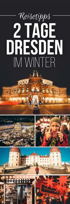 2 Tage Dresden im Winter: Die 7 besten Dresden Sehenswürdigkeiten, Dresden Reisetipps und Dresden Highlights die du besichtigt und gemacht haben solltest zu Weihnachten. #dresden #deutschland #reisetipp #cityguide