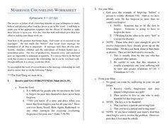 Marriage+Help+Worksheet   MARRIAGE COUNSELING WORKSHEET