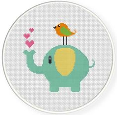 Thrilling Designing Your Own Cross Stitch Embroidery Patterns Ideas. Exhilarating Designing Your Own Cross Stitch Embroidery Patterns Ideas. Elephant Cross Stitch, Cross Stitch Baby, Cross Stitch Animals, Cross Stitch Charts, Cross Stitch Designs, Free Cross Stitch Patterns, Learn Embroidery, Cross Stitch Embroidery, Embroidery Patterns