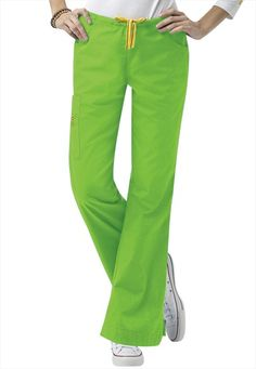 Love the pewter color, and the green apple!  Not to mention the malibu blue... lol   WonderWink Romeo scrub pants.