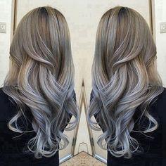 30 Gray Ombre Hair