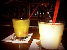Mai Tais and Chi Chis at Damon's Steakhouse in Glendale