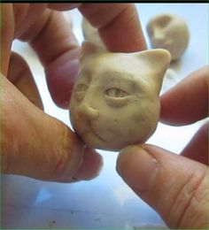 Making Clay Faces ~ Polymer Clay Tutorials