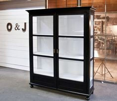 For all things Glass Cabinet Doors, China Cabinet, Glass Door, Ikea Hackers, Artist At Work, Modern Furniture, New Homes, Design Inspiration, House Design